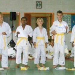Remise de ceinture jaune