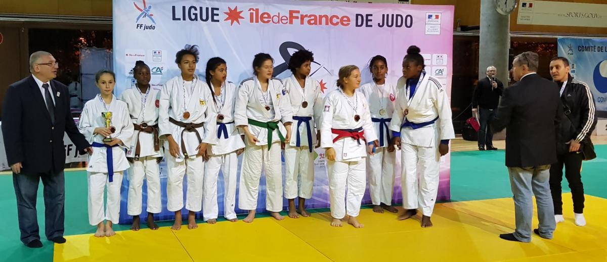 Championnats idf par equipe minime feminines du 12 11 2017 21